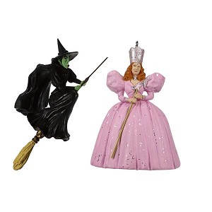 2019 Glinda the Good Witch and Wicked Witch of the West, Wizard of Oz, Miniature, LIMITED EDITION