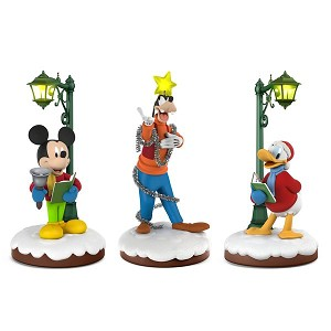 2018 Disney Christmas Carolers Collector's Set, Limited Edition - RARE