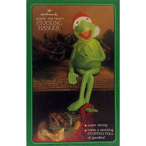 1980 Kermit The Frog - Stocking Hanger