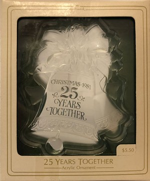 1981 25th Christmas Together