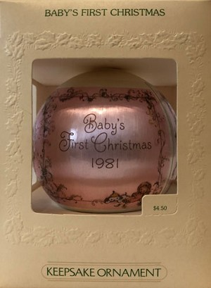 1981 Baby's First Christmas
