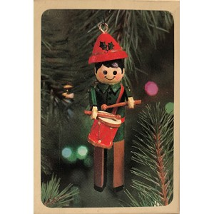 1981 Clothespin Drummer Boy