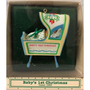 1983 Baby's First Christmas