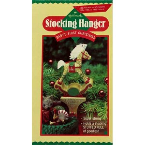 1984 Baby's First Christmas - Stocking Hanger