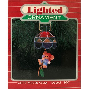 1987 Chris Mouse #3 -  Chris Mouse Glow