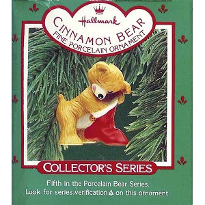 1987 Cinnamon Bear, Porcelain Bear #5
