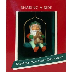 1989 Sharing A Ride, Miniature
