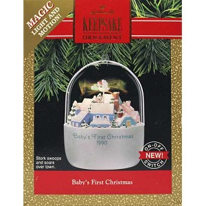 1990 Baby's First Christmas WB