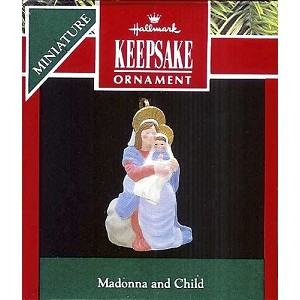1990 Madonna And Child, Miniature