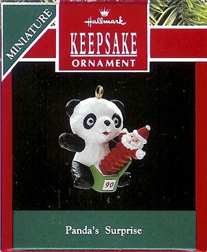 1990 Panda's Surprise, Miniature