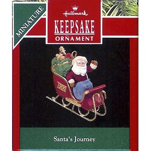 1990 Santa's Journey, Miniature