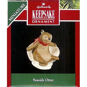 1991 Seaside Otter, Miniature