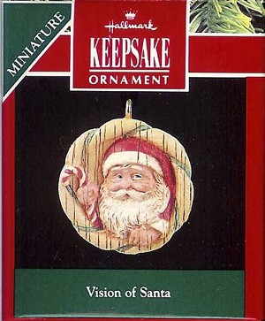 1991 Vision Of Santa, Miniature