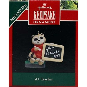 1992 A+ Teacher, Miniature