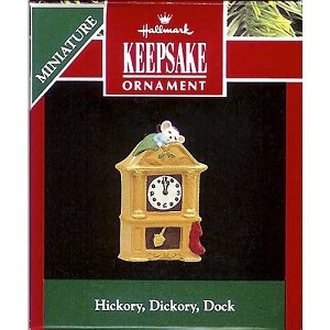 1992 Hickory, Dickory, Dock, Miniature