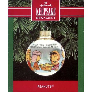 1992 Peanuts, Glass Ball