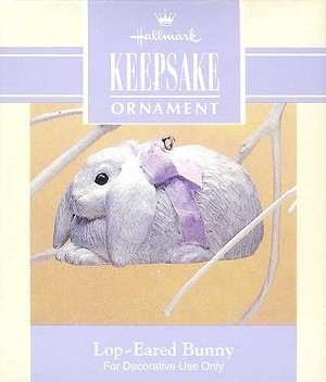 1993 Lop-Eared Bunny, Easter