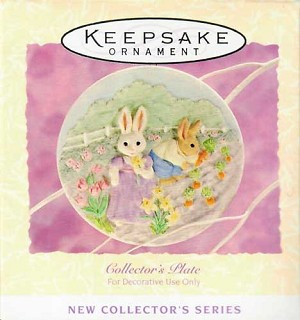 1994 Collector's Plate #1 - Easter