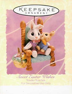 1994 Sweet Easter Wishes, Tender Touches