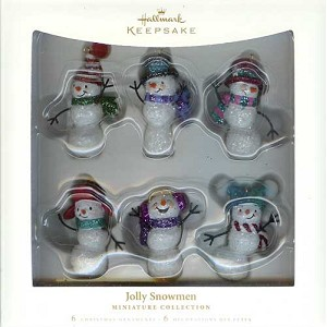 2006 Jolly Snowmen, Miniature Set