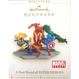 2006 A New Breed of Super Heroes, Marvel, Set of 6 Miniatures
