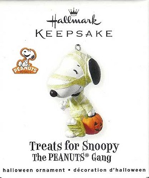 2010 Treats for Snoopy, The Peanuts Gang, Halloween