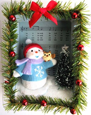 2018 Joy to the World, The Songs of the Season, Snow Buddies, Club Ornament