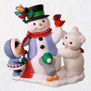 2018 Let's Build a Snowman!, Club Ornament