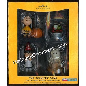 2008 Peanuts Gang Halloween, Its The Great Pumpkin Charlie Brown