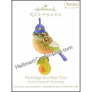 2011 Partridge in a Pear Tree, Twelve Days of Christmas #1
