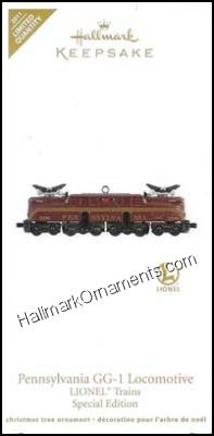 2011 Pennsylvania GG-1 Locomotive, Lionel Trains, LIMITED QUANTITY
