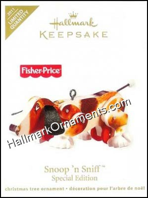 2011 Snoop N Sniff, Fisher-Price, LIMITED QUANTITY