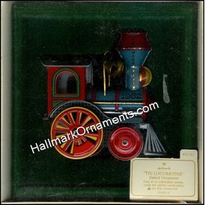 1982 Tin Locomotive #1 - RARE