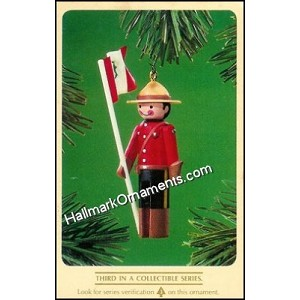 1984 Clothespin Soldier #3, Canadian