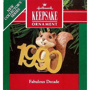 1990 Fabulous Decade #1 - Squirrel with Brass 1990