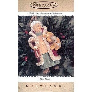 1996 Mrs. Claus, Folk Art Americana