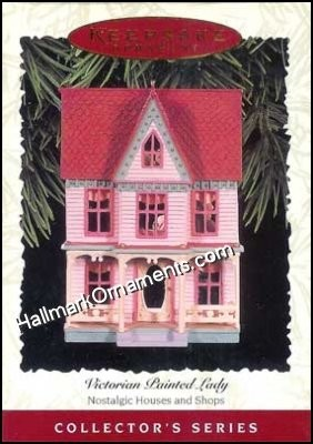 1996 Victorian Painted Lady, Nostalgic Houses & Shops #13 DB