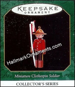 1997 Miniature Clothespin Soldier #3