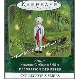 2000 Sailor, Miniature Clothespin Soldier #6