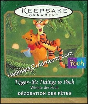 2000 Tiggerific Tidings to Pooh, Miniature
