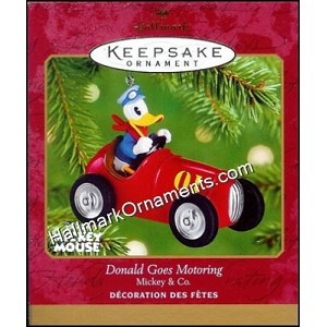 2001 Donald Goes Motoring, Mickey & Co., Disney
