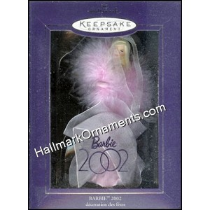 2002 Barbie, Club Ornament