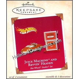 2002 Juice Machine and Revvin Heaven, Hot Wheels