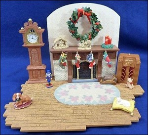 2002 The Family Room, Studio Limited Edition, Santa's Big Night - HARD TO FIND