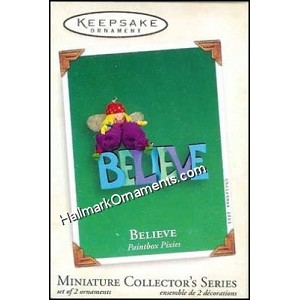 2003 Believe, Paintbox Pixies #2, Miniature
