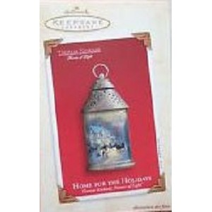 2003 Home for the Holidays, Thomas Kinkade, Painter of Light