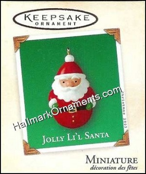 2003 Jolly Li'l Santa, Miniature