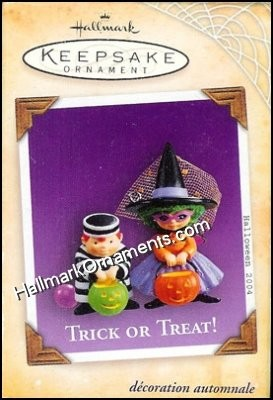 2004 Trick or Treat!, Halloween
