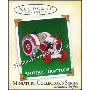 2005 Antique Tractors #9, Miniature