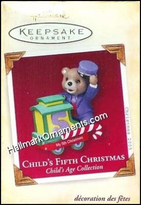 2005 Child's Fifth Christmas, Child's Age